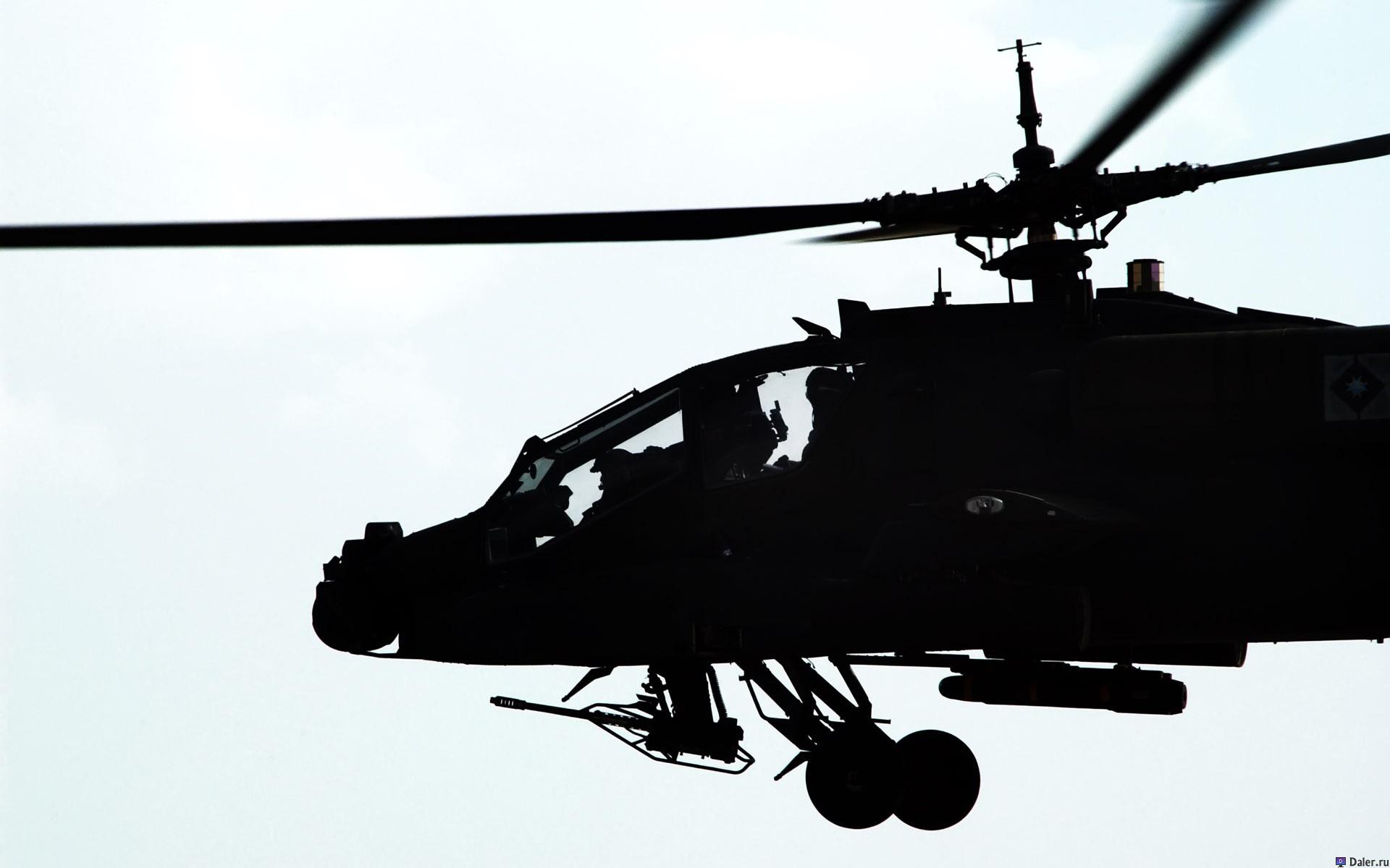 силуэт вертолета, helicopter, фото, wallpaper, обои на рабочий стол
