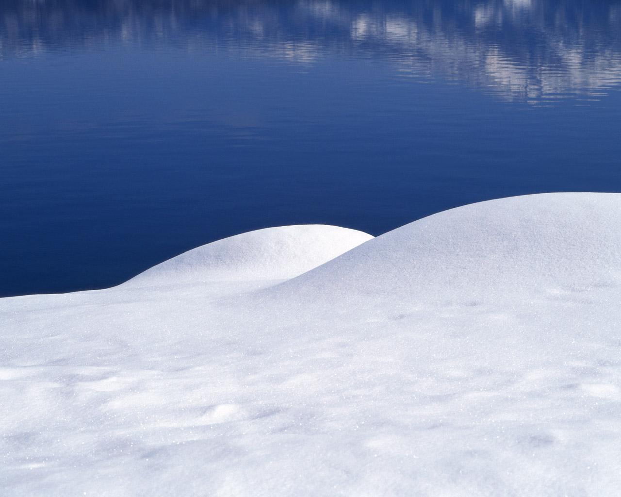 Сугробы, снег, фото, скачать