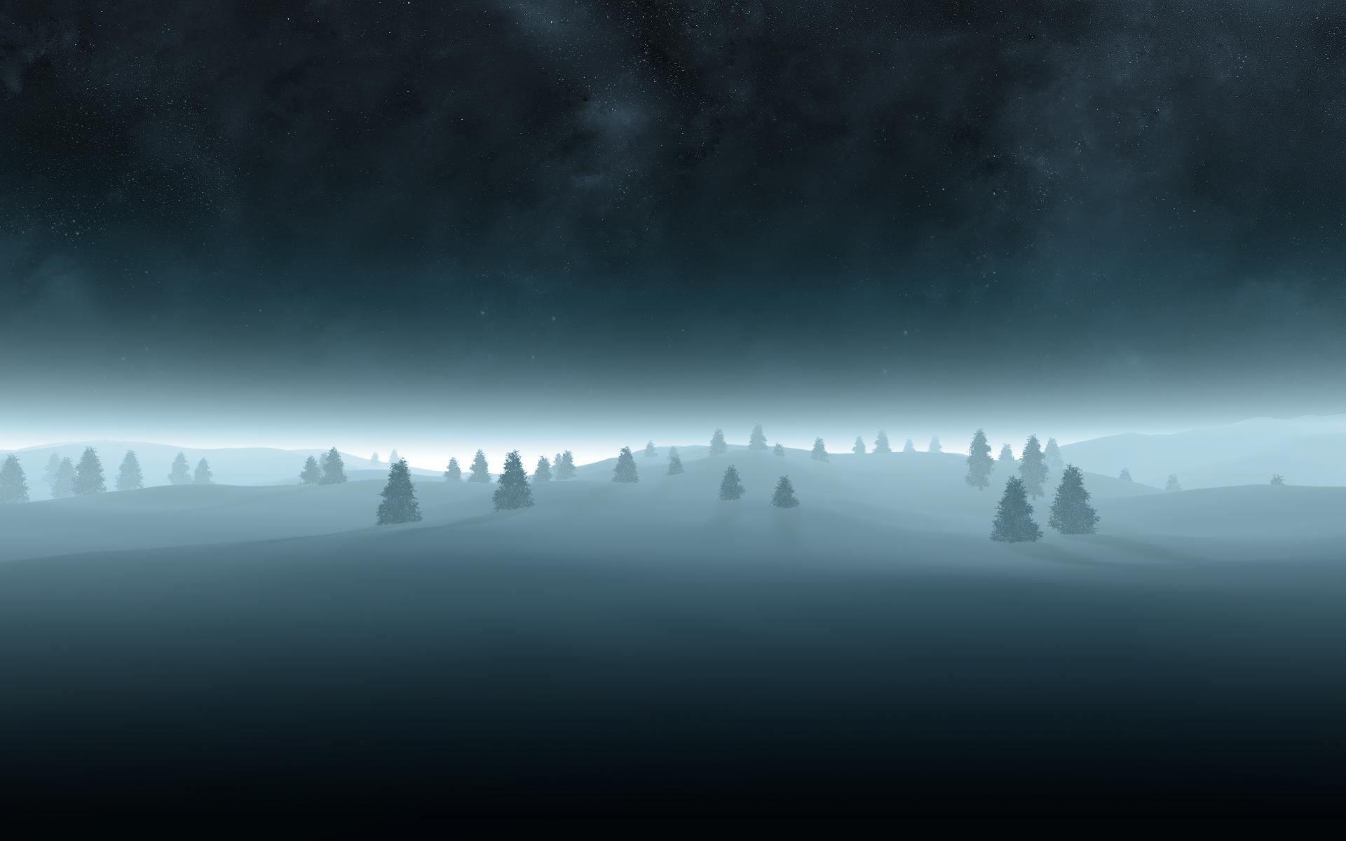 Зима, красивое фото, обои, скачать