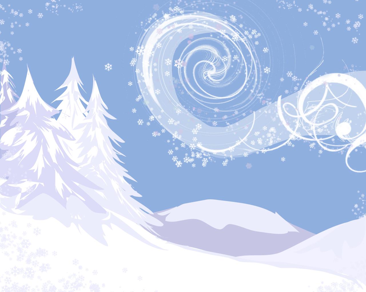 Обои для рабчоего стола, фото, снег, зима