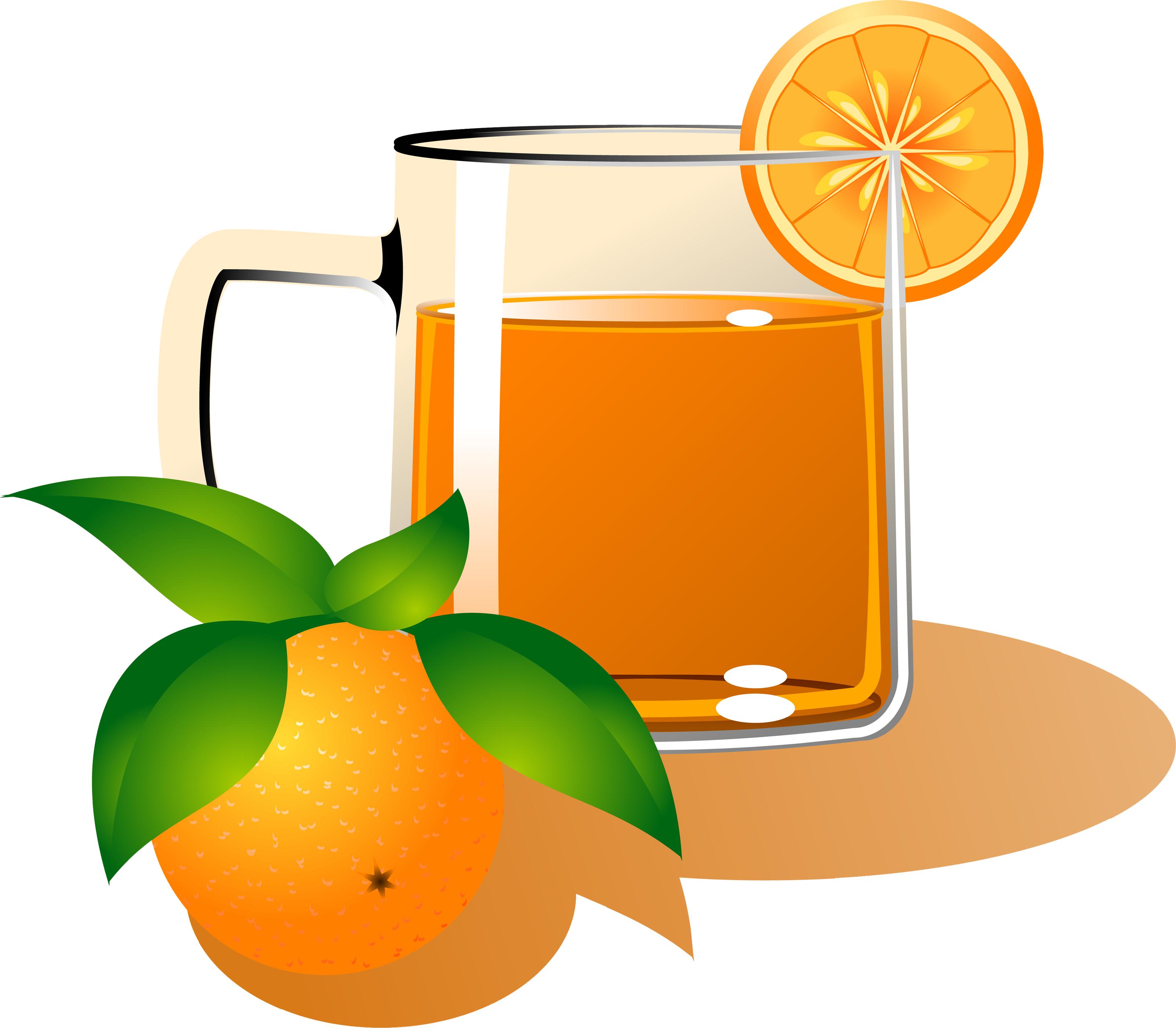 клипарт, фото, апельсиновый сок, сок со стаканом, апельсин