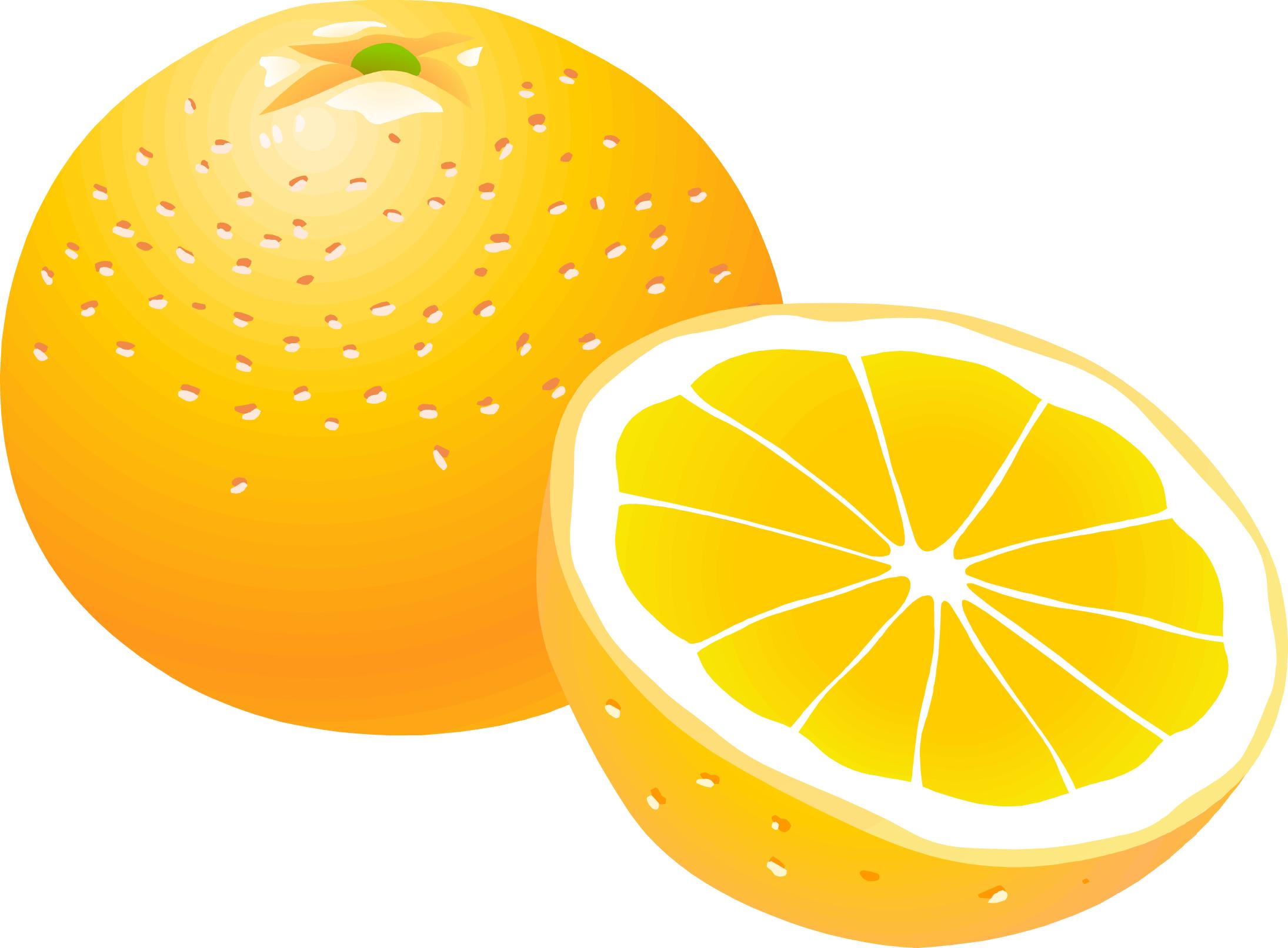 Image category: Oranges Orange Moon Clipart