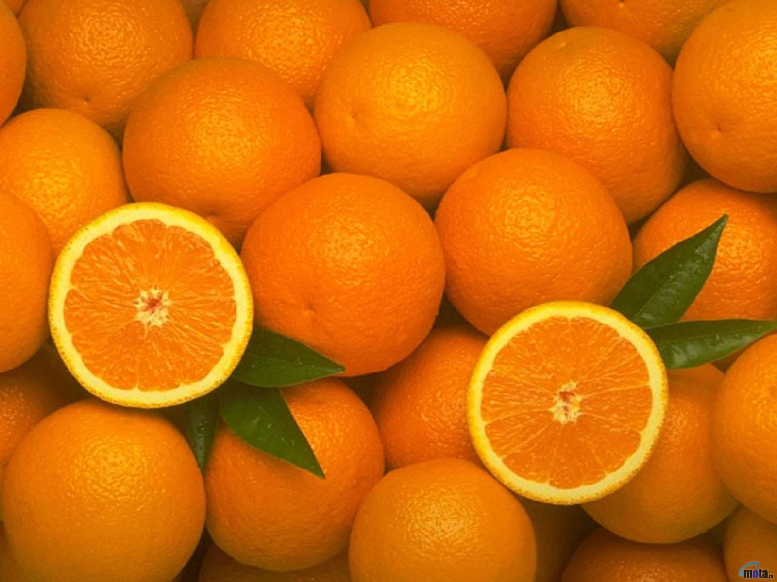 много апельсины, фото, скачать, обои для рабочего стола