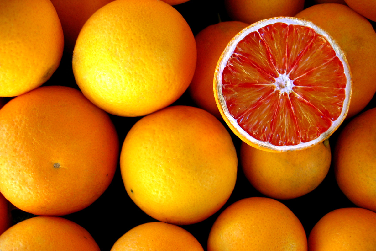 Апельсины, фото, обои для рабочего стола, orangw