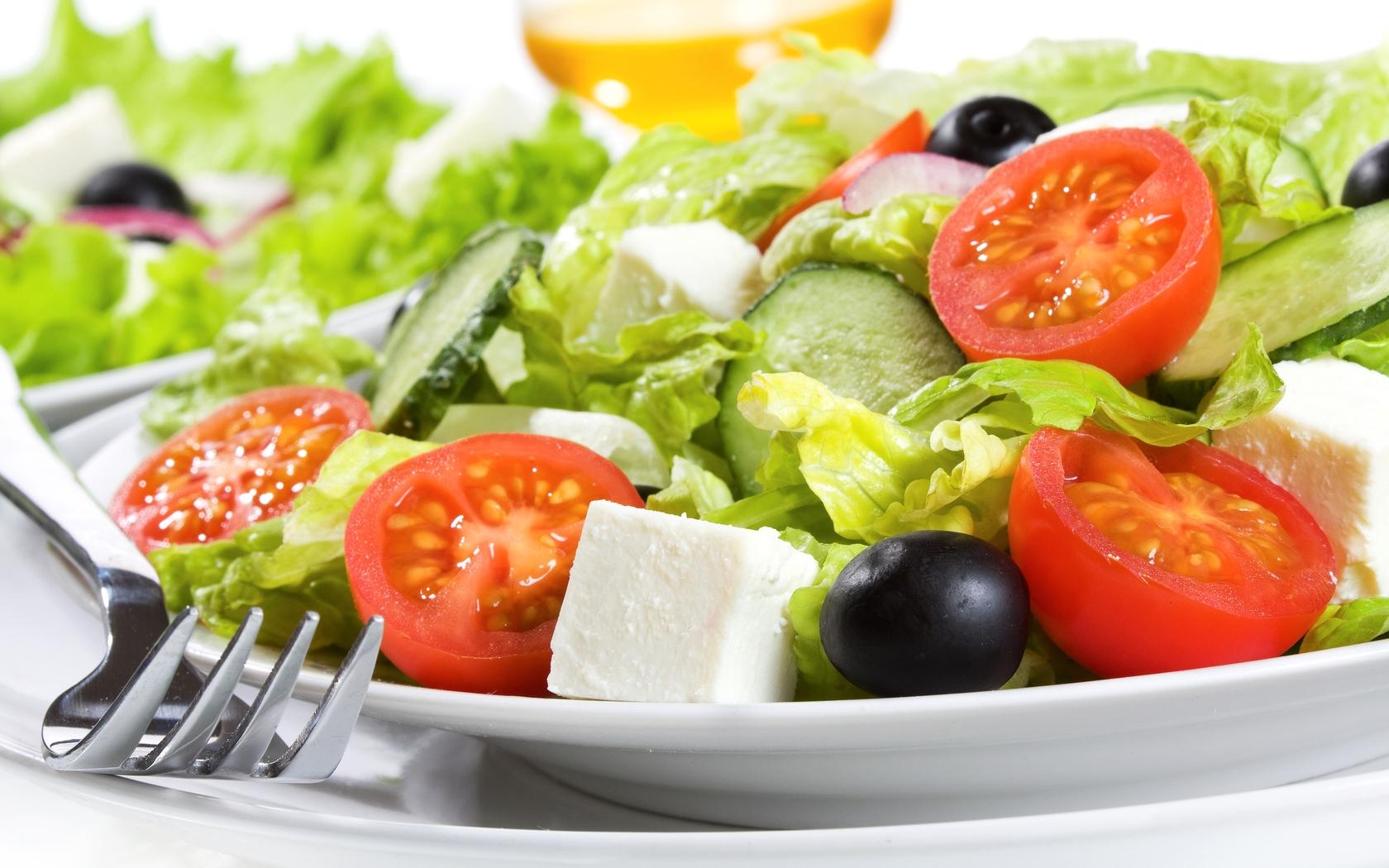 Салат, помидоры, фото, скачать, с сыром, обои для рабочего стола