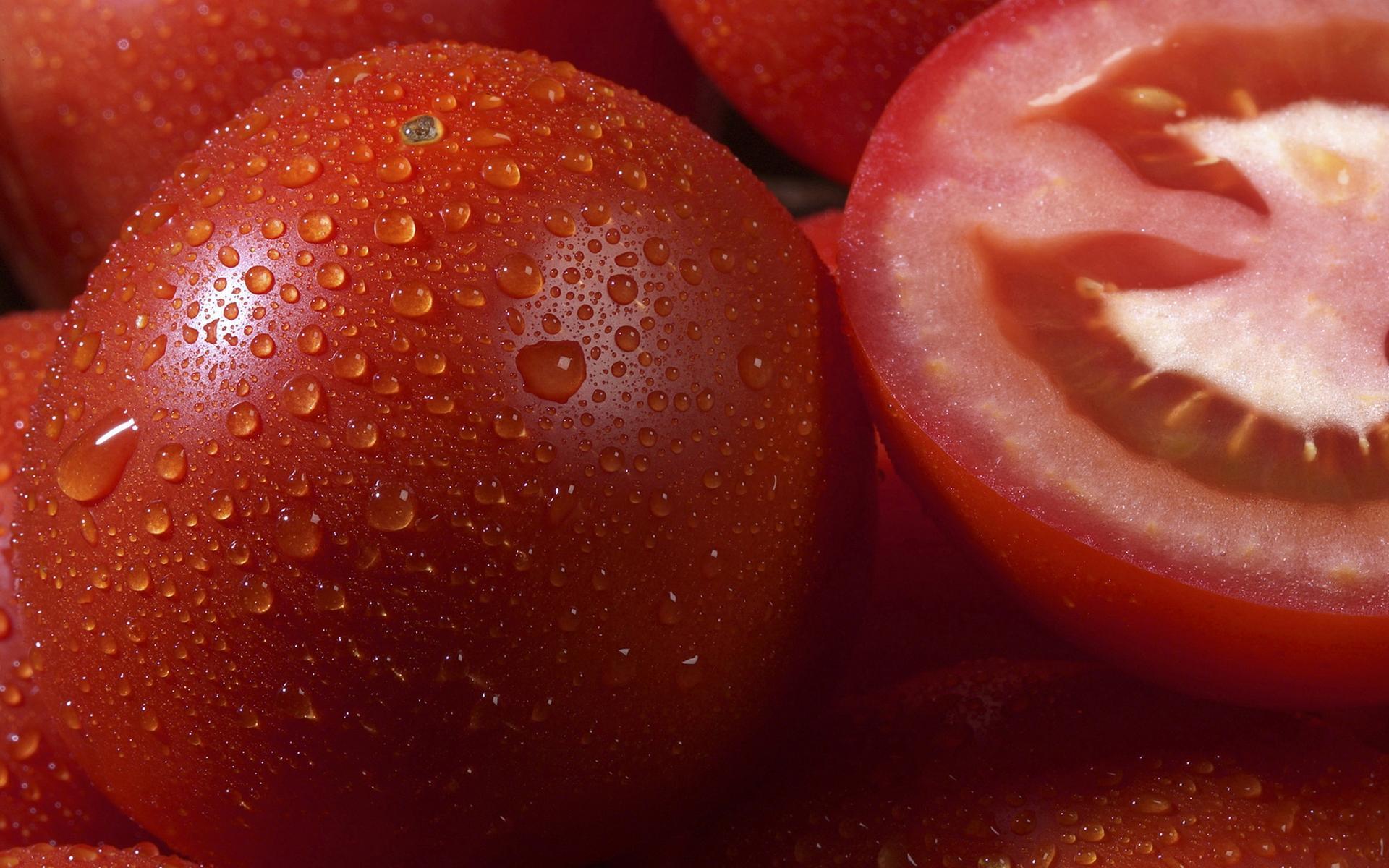 Обои для рабочего стола, фото, помидоры