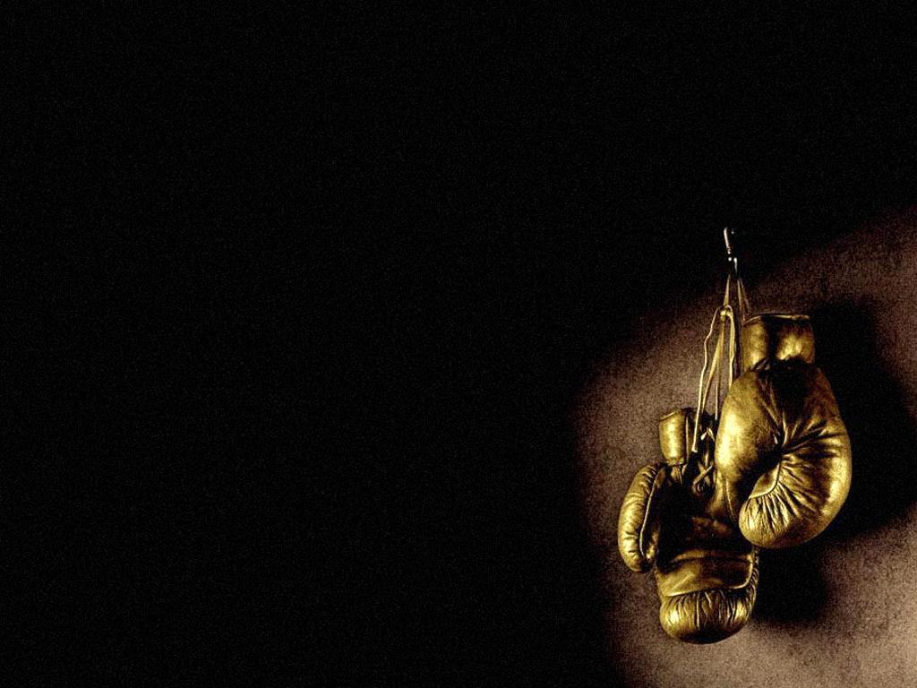 Золотые боксерские перчатки фото, обои для рабочего стола, скачать