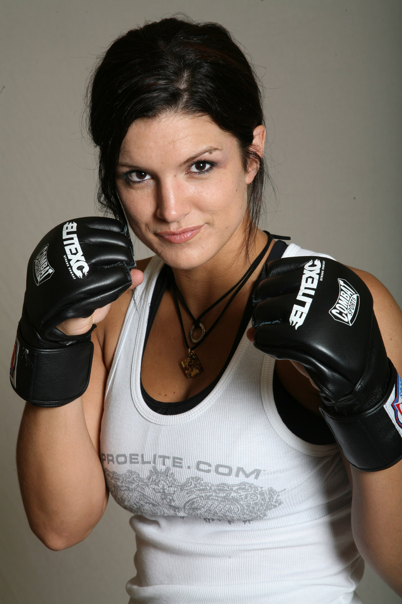 девушка в перчатках, фото, боксер