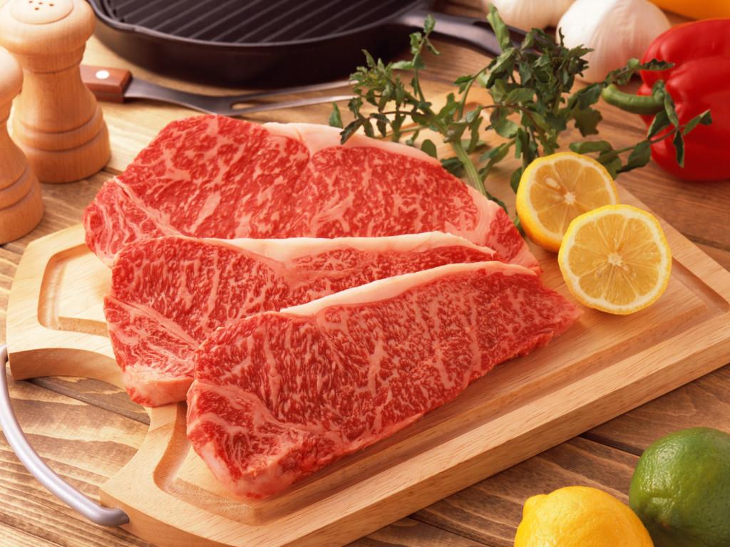 Мясо с лимоном, свежее мясо, фото, обои