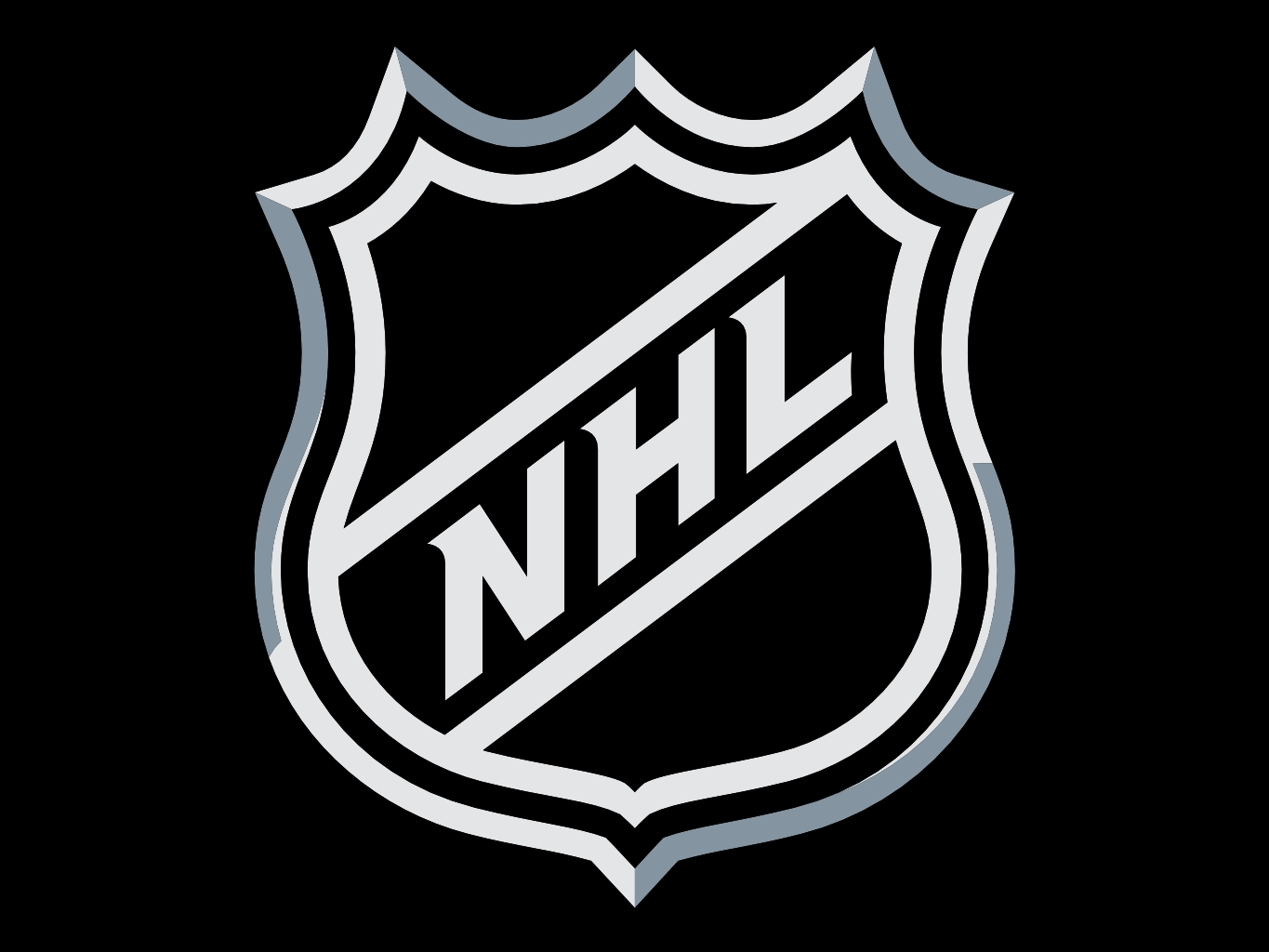 NHL logo, wallpaper, скачать