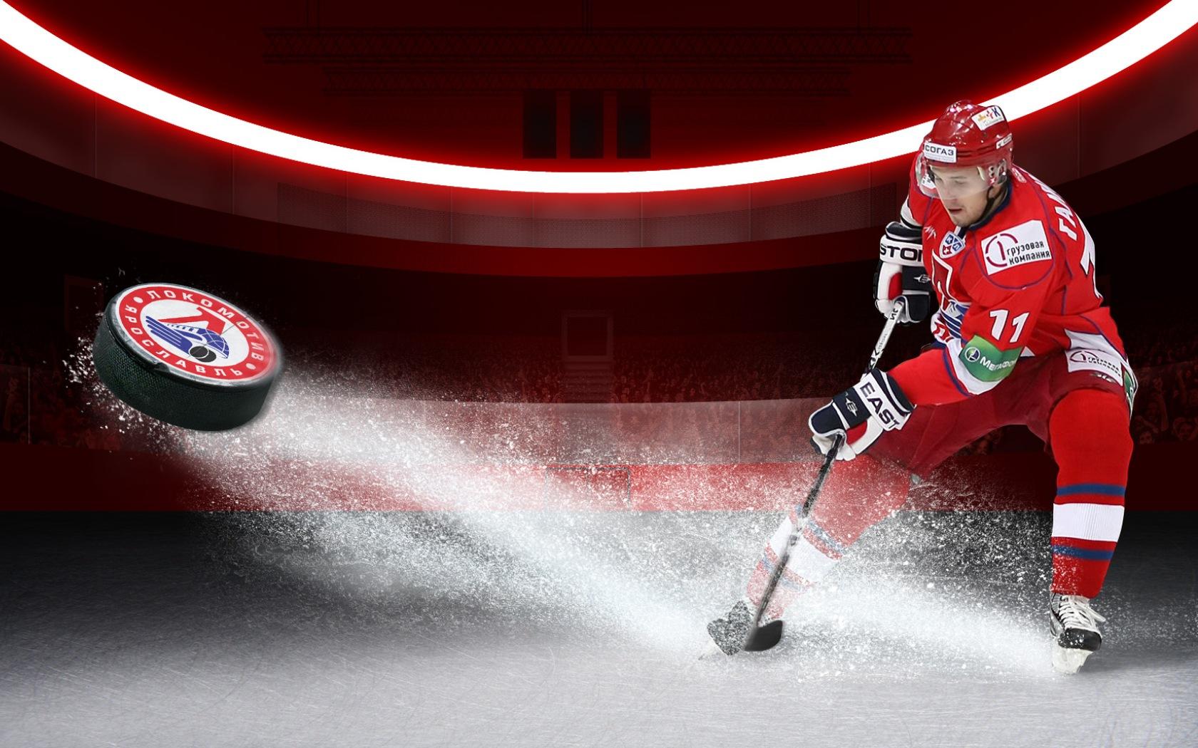 Хоккей, шайба, фото, обои для рабочего стола, скачать