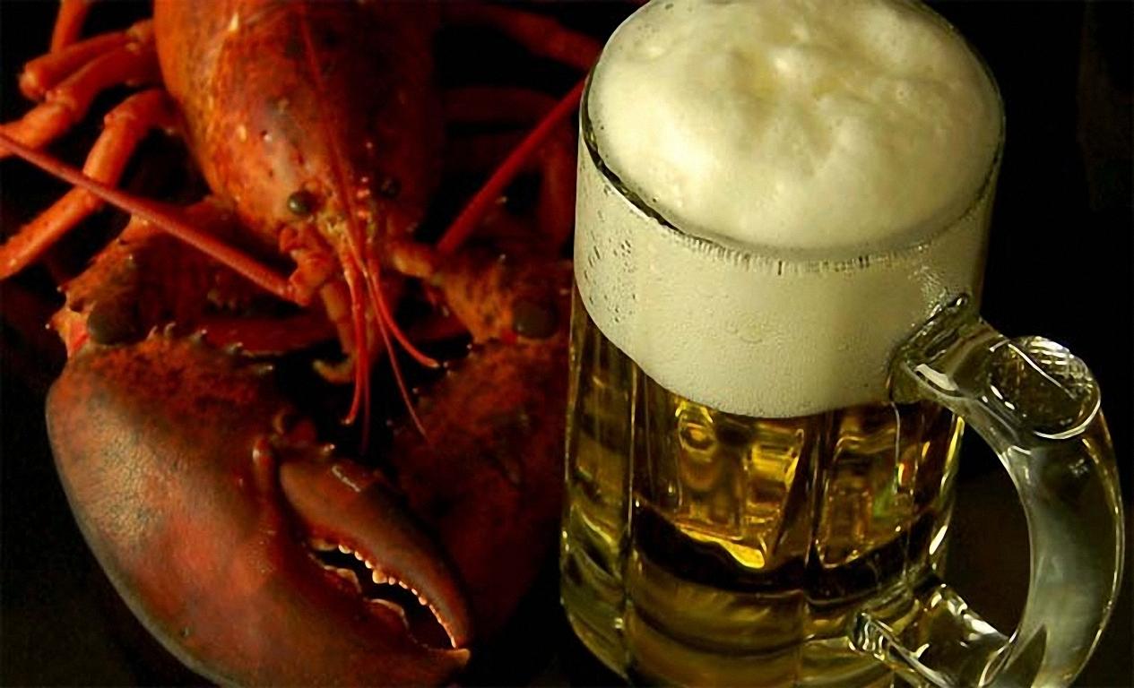 кружка пива и раки, фото, скачать, обои на рабочий стол