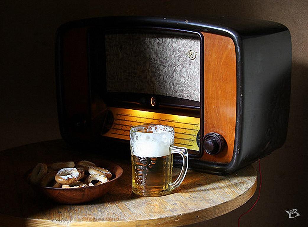 обои для рабочего стола, пиво, фото, радио