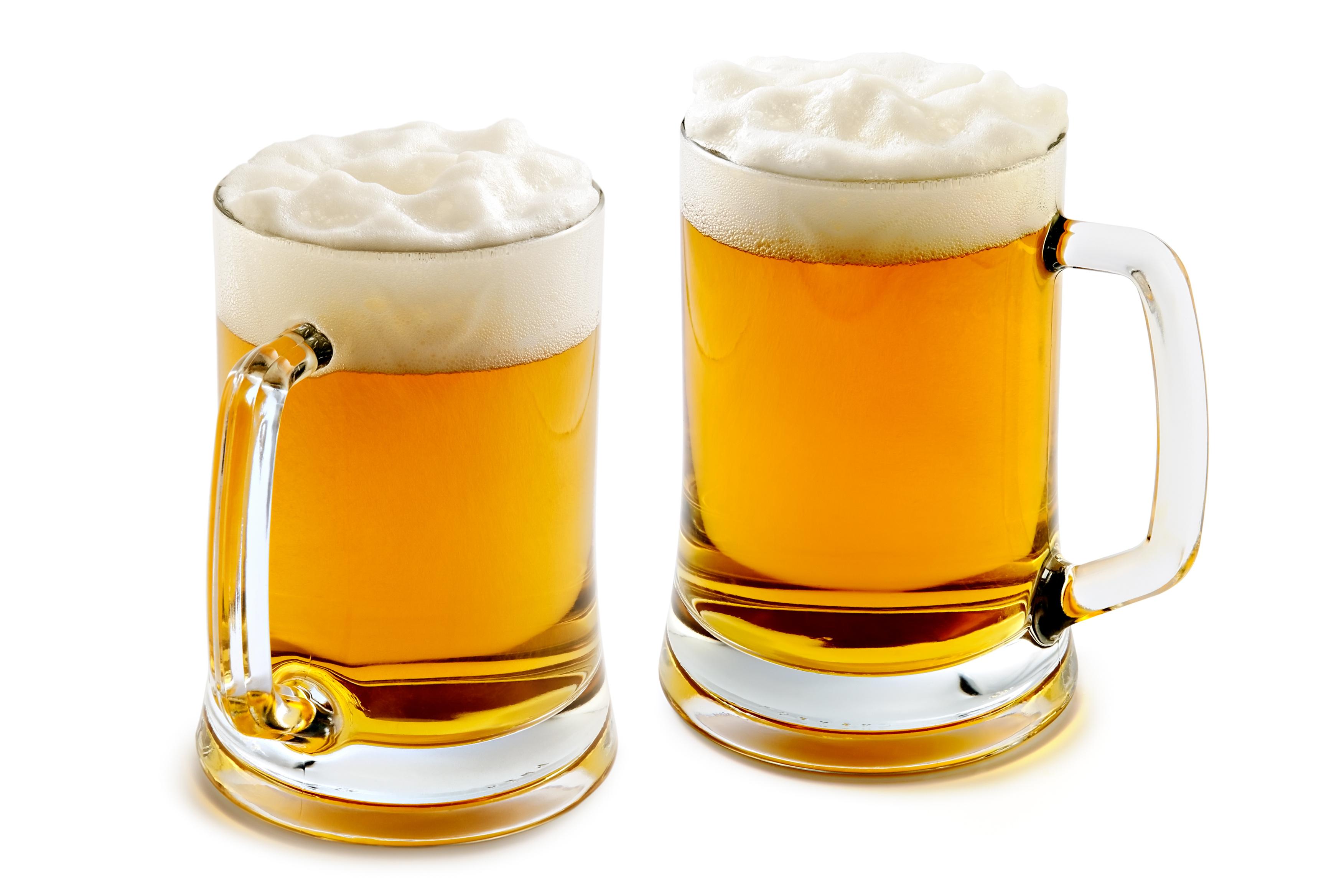 пиво в кружках, фото, обои на рабочий стол, фото, скачать