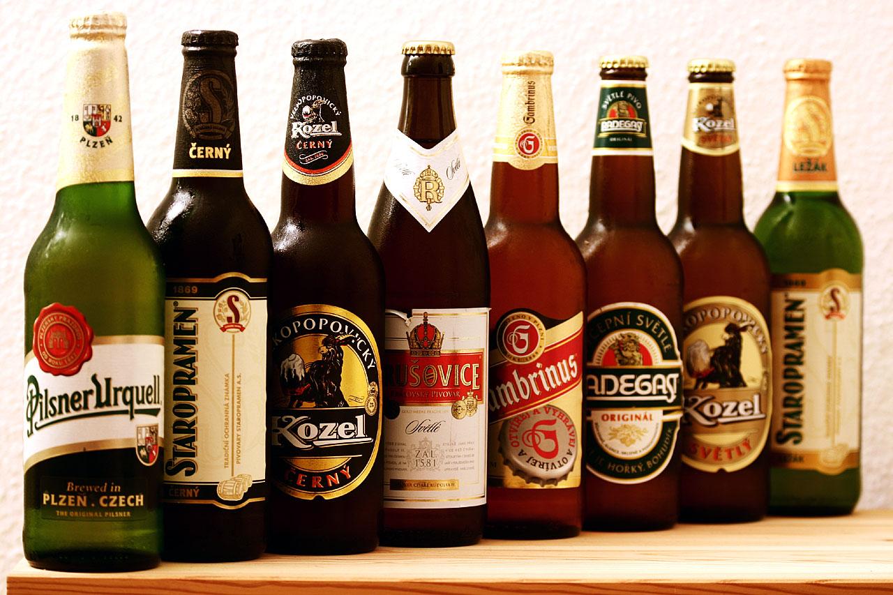 бутылочное пиво, фото, обои для рабочего стола