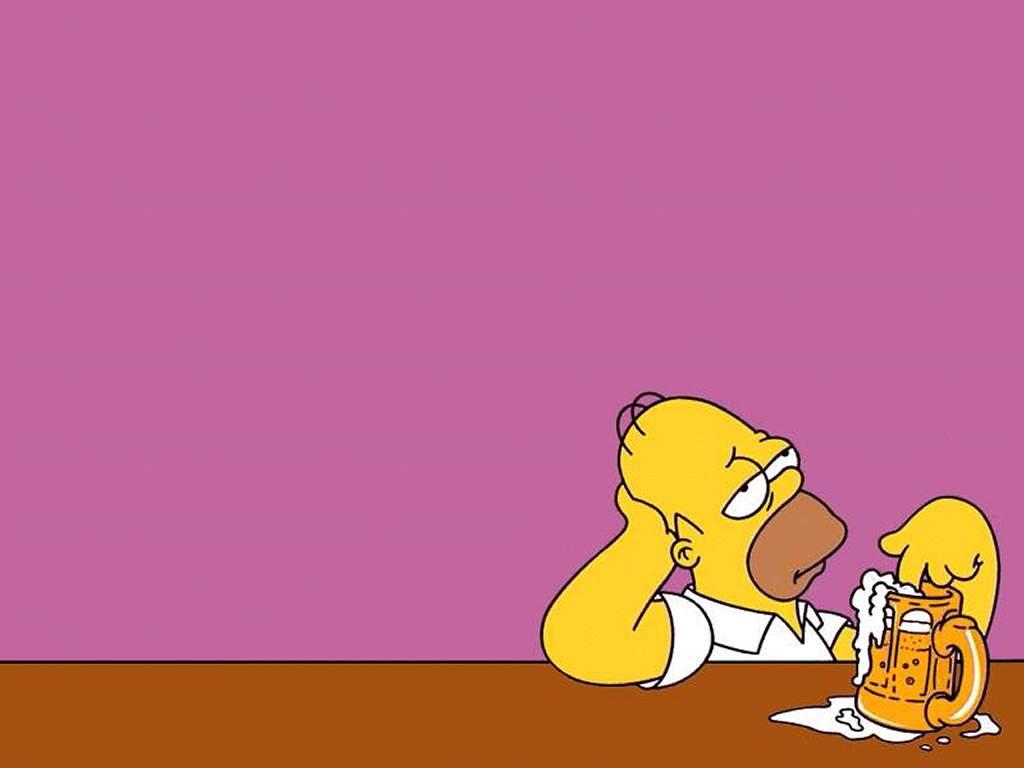 Гомер Симпсон, фото, обои для рабочего стола, пиво, скачать