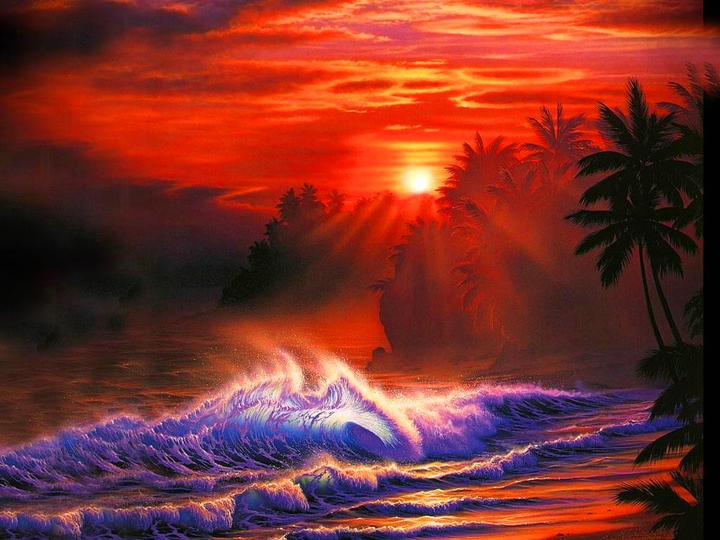 море закат, скачать фото, обои на рабочий стол