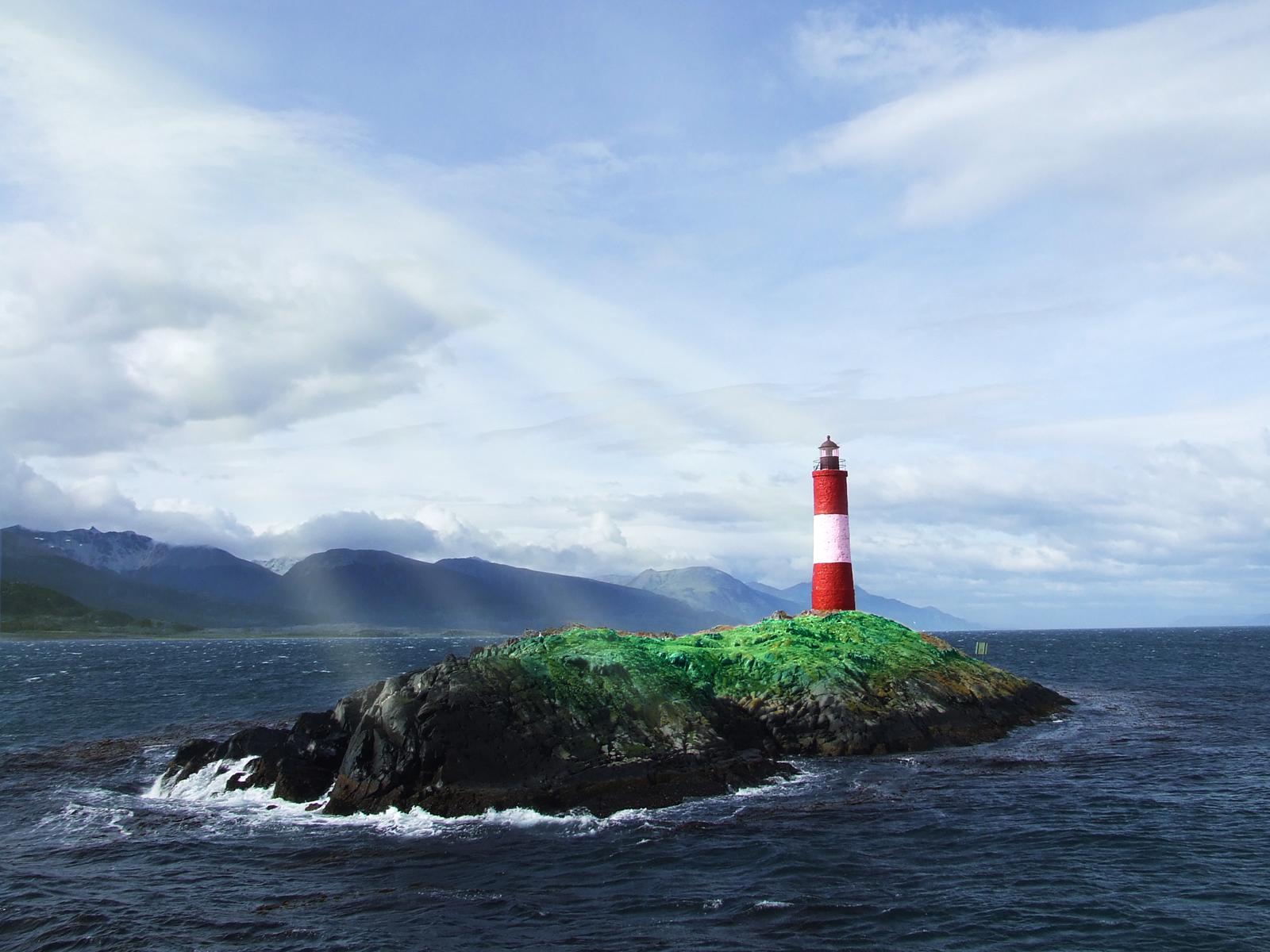 море, остров, фото, маяк, скачать фото
