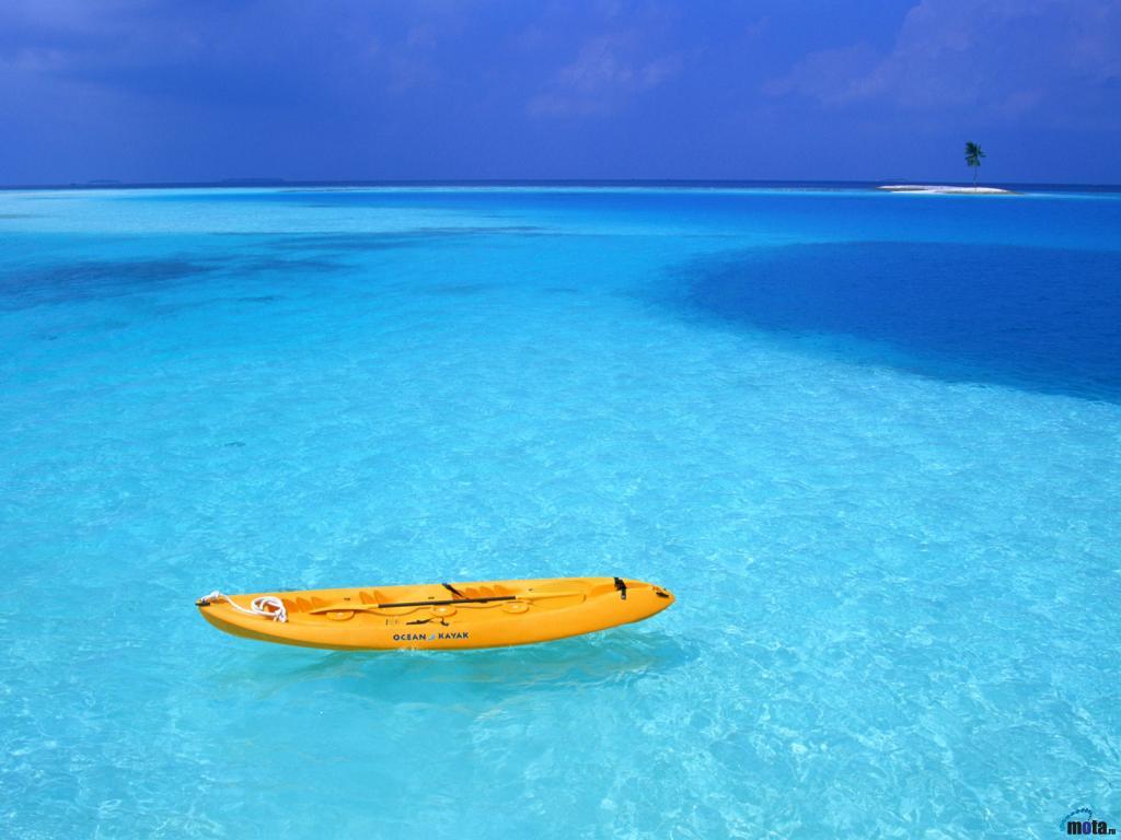 лодка на воде, скачать фото, обои для рабочего стола