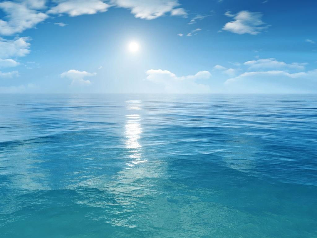море, вода, солнце, отражение, скачать фото
