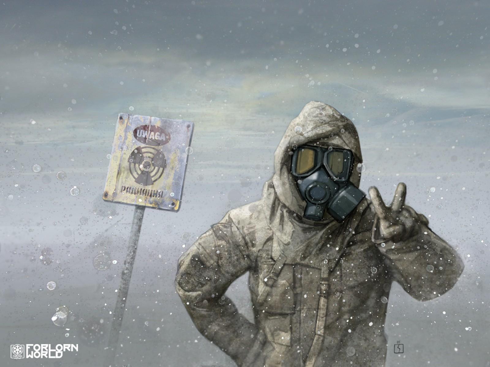 радиационная зима, радиация, снег, фото