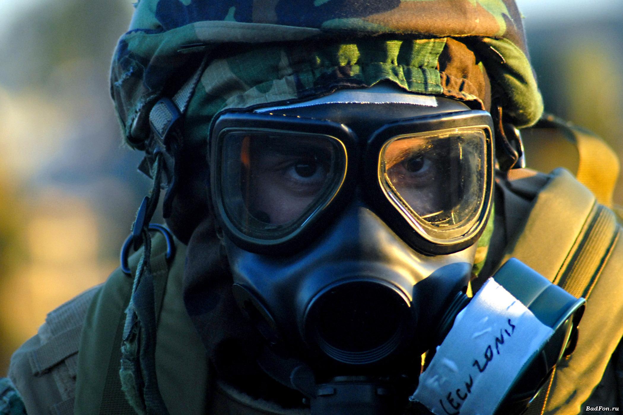 боец в маске, фото, скачать, радиация