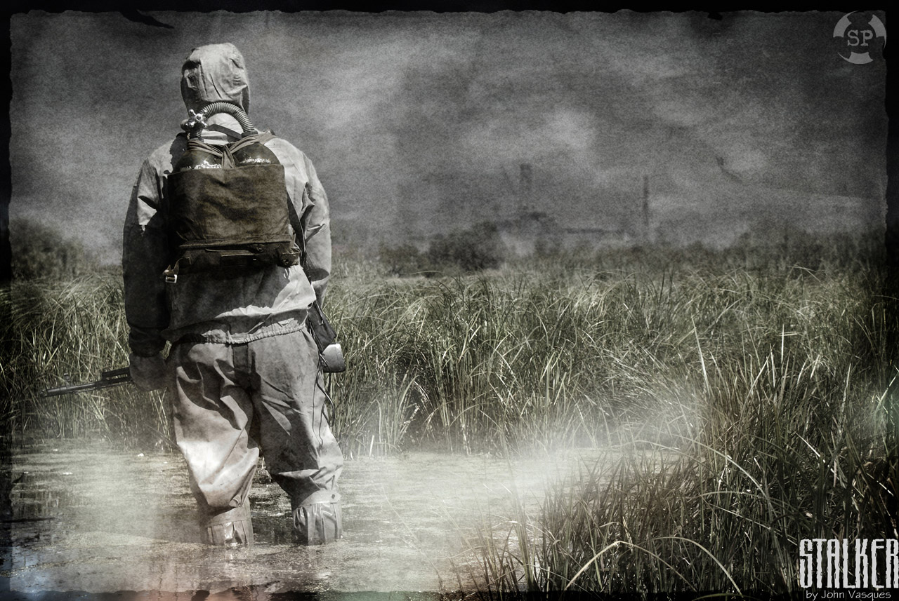 радиация, солдат, фото, обои, скачать бесплатно