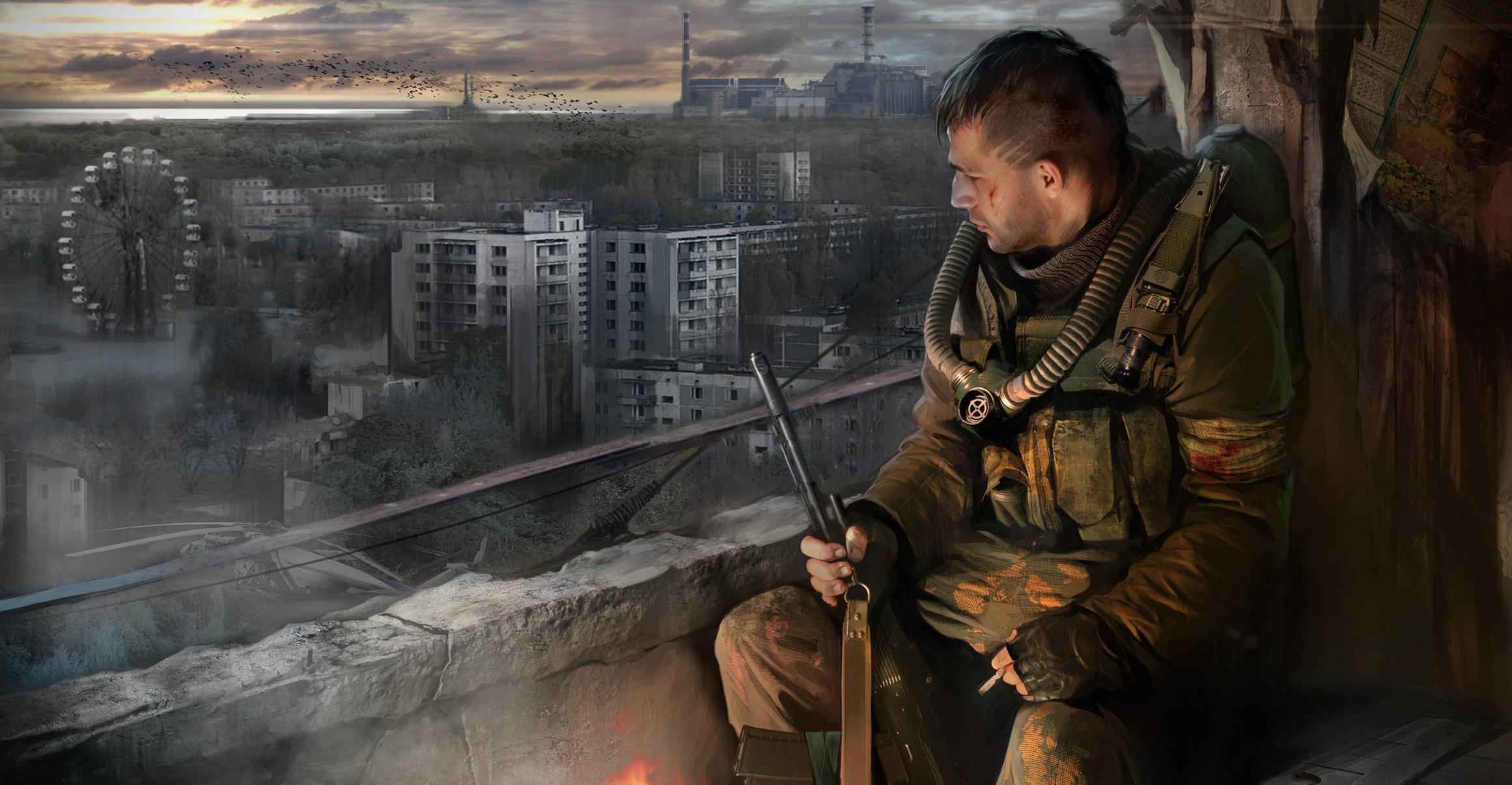 солдат, скачать фото, Сталкер, Stalker, wallpaper