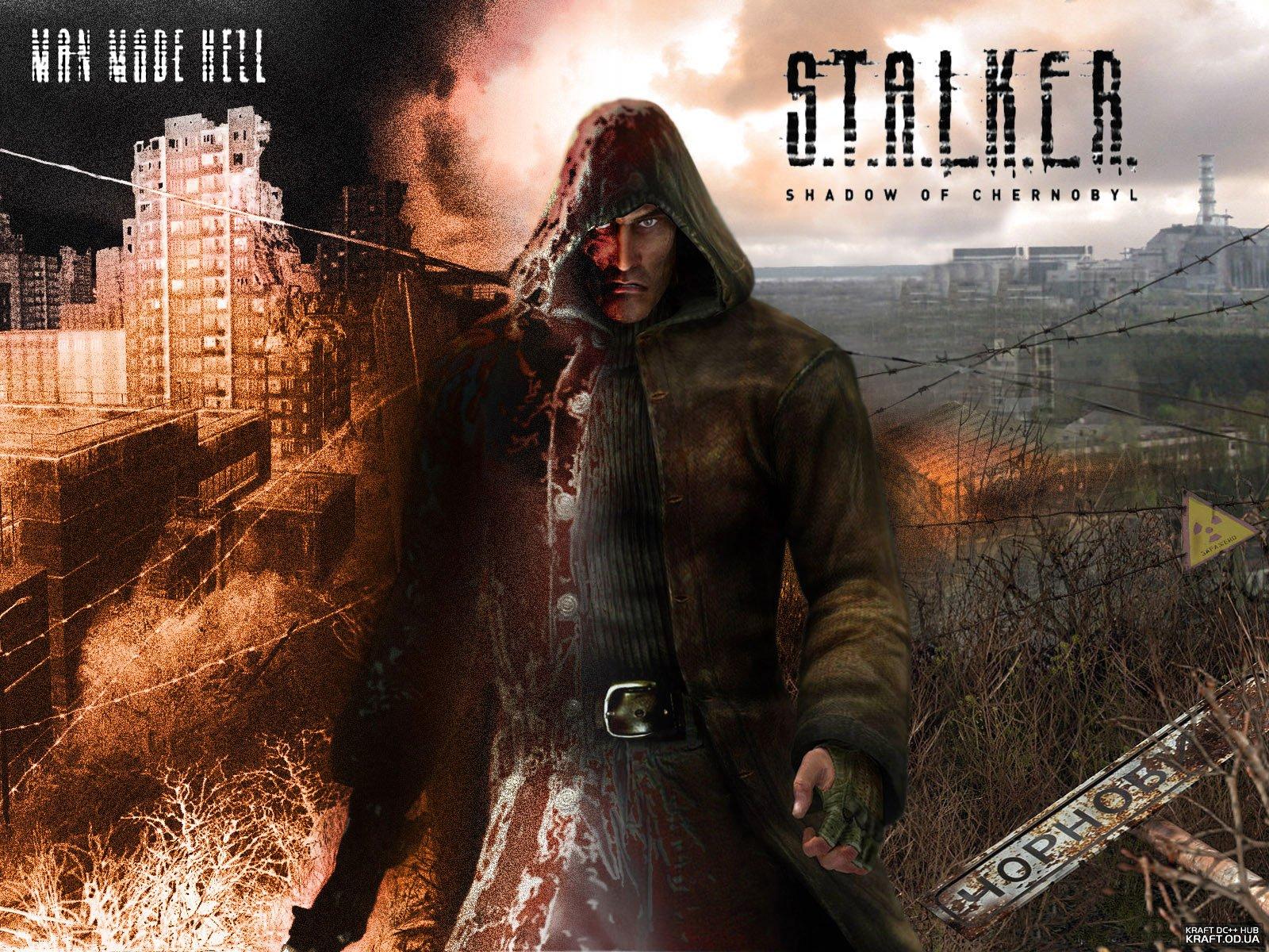Stalker, wallpaper, обои, игра, скачать