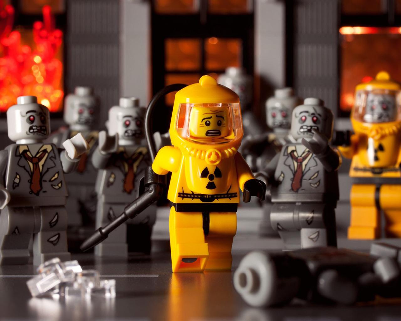 Lego, wallpaper, фото, скачать, конструктор, радиация
