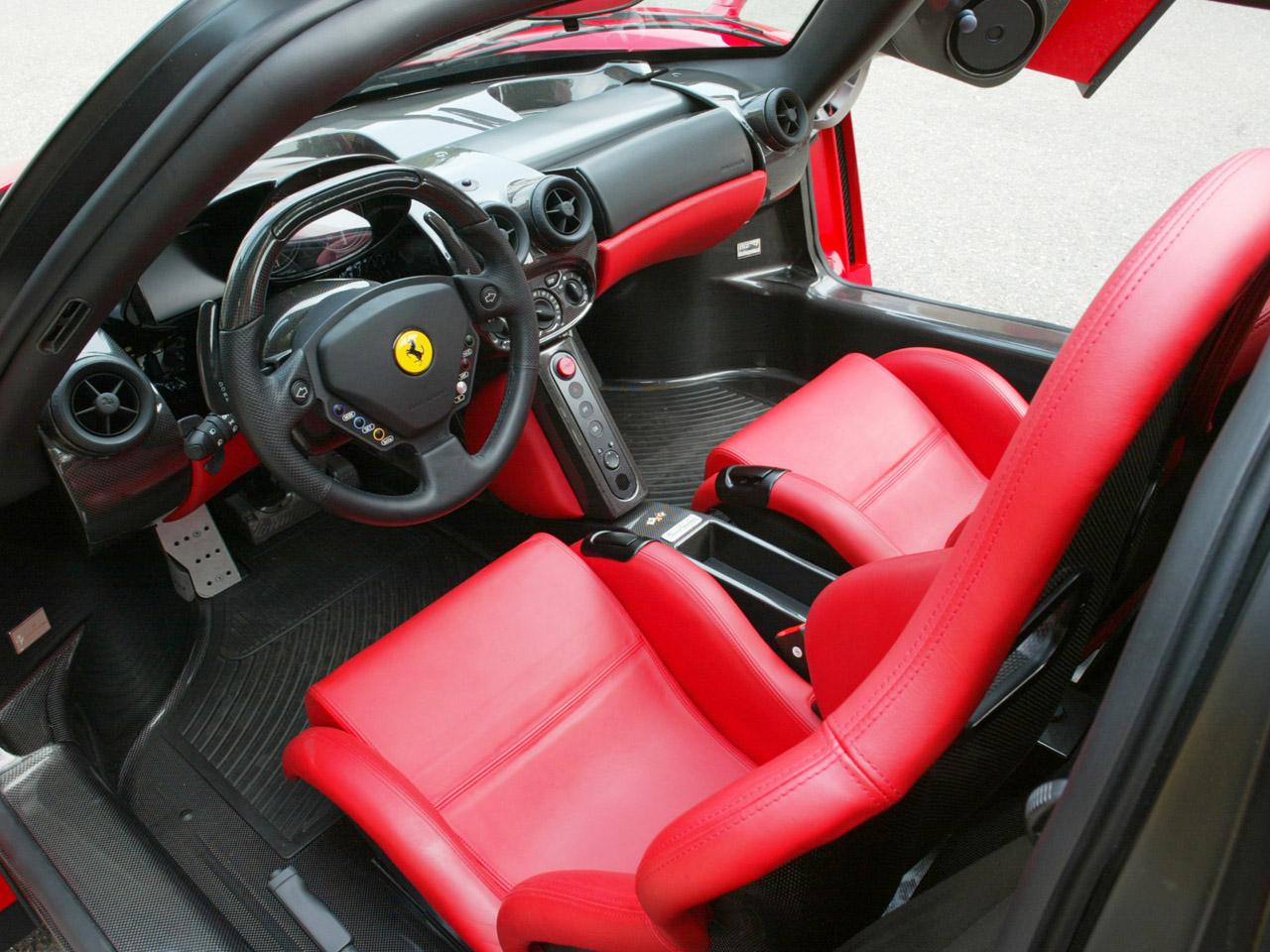 интерьер машины внутри, ferrari, кресла, фото, обои для рабочего стола