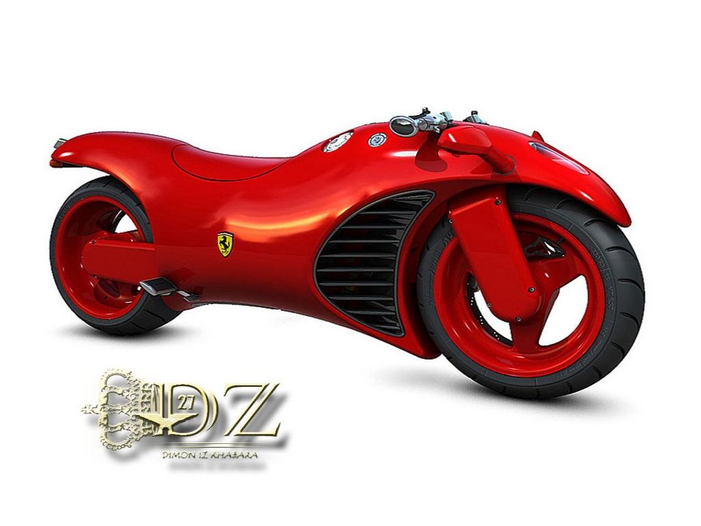 concept ferrari bike, скачать фото, ферари