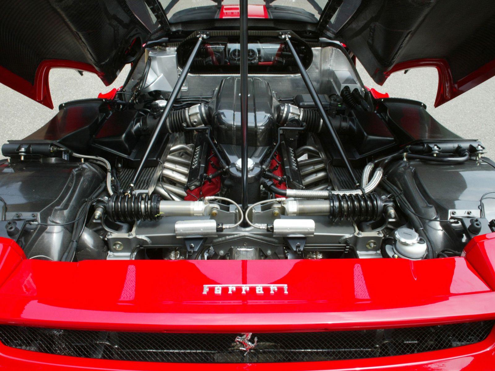 двигатель машины феррари, фото скачать, ferrari, wallpaper