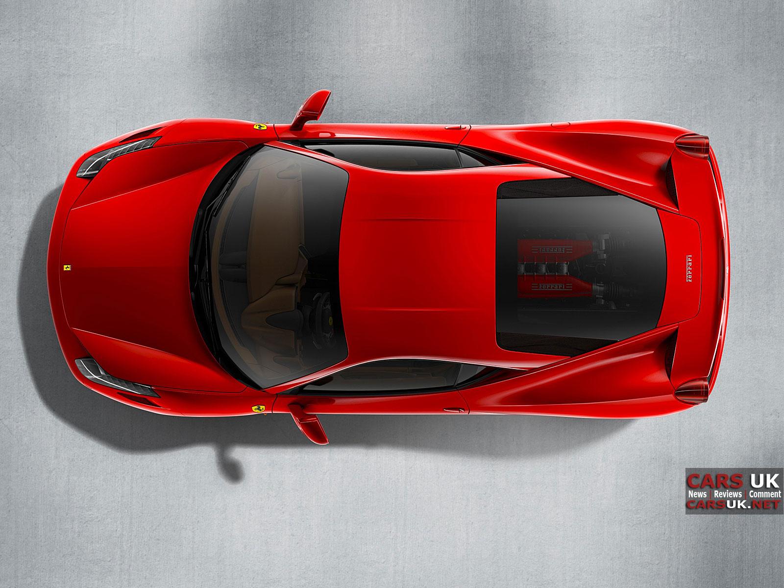 красная машина, фото, обои для рабочего стола, red car, ferrari