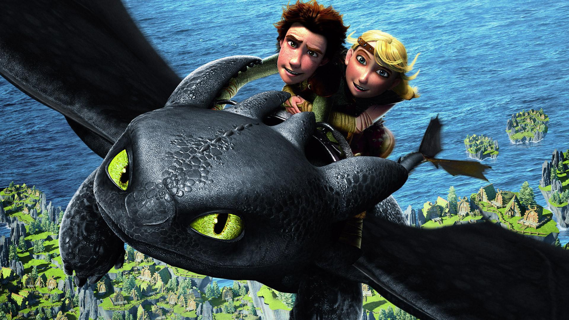 как приручить дракона, мультфильм, обои для рабочего стола, скачать