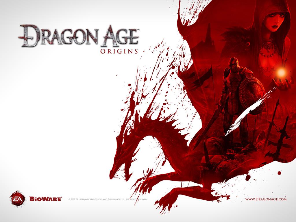 Dragon age wallpaper, скачать фото обои для рабочего стола, дракон