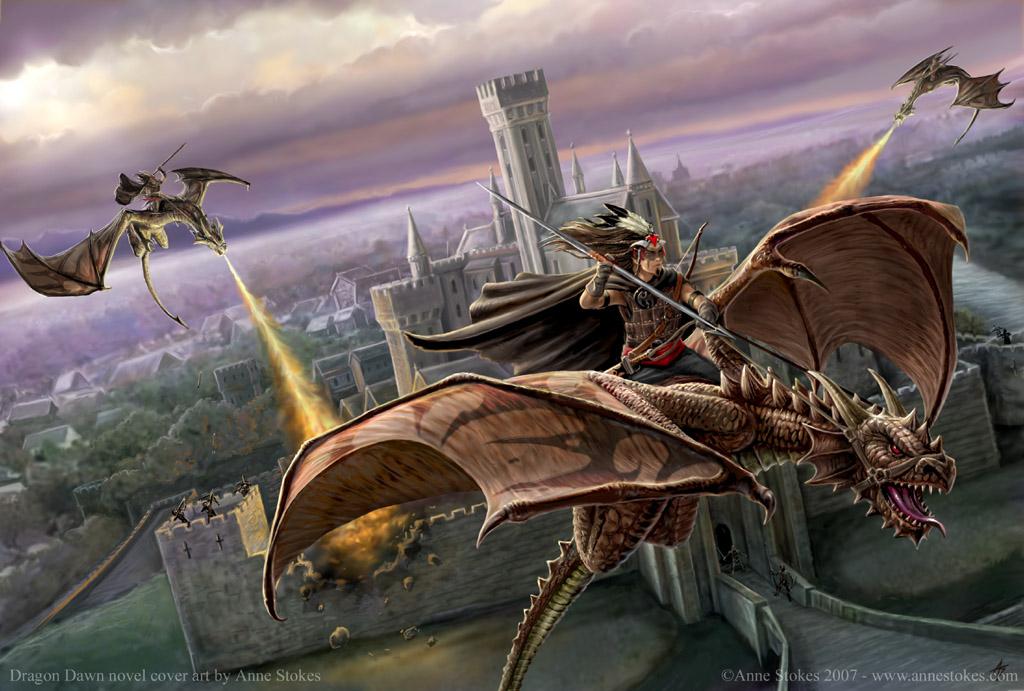 летающий дракон, скачать фото, обои для рабочего стола