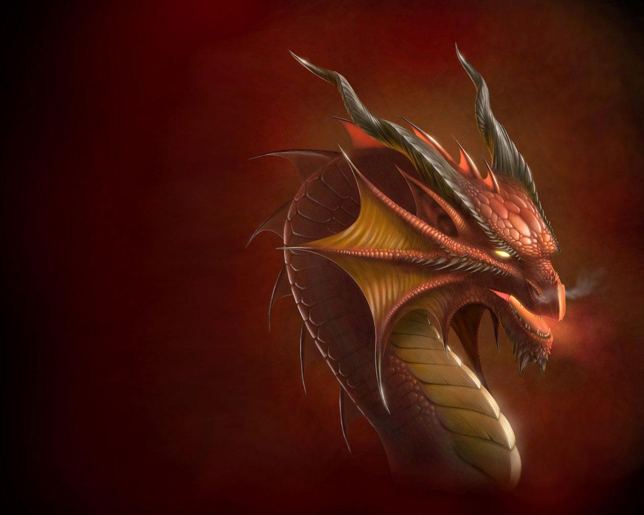 рисунок, дракон, обои для рабочего стола