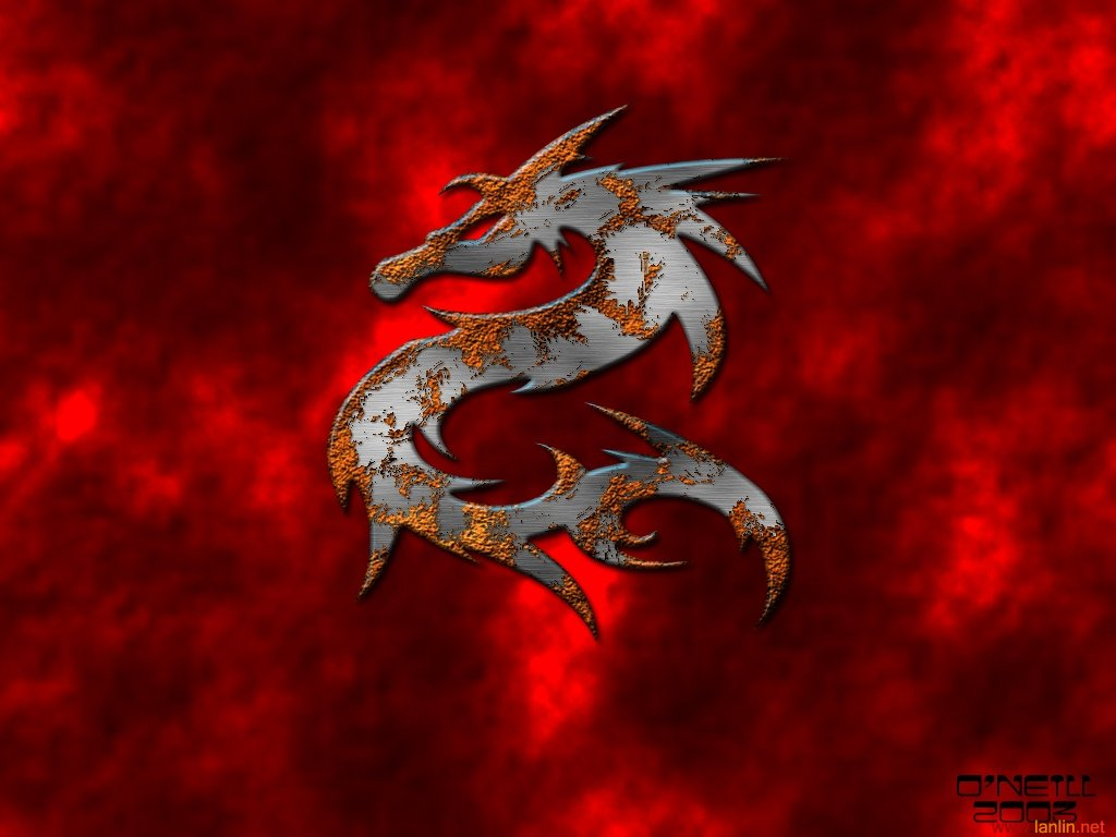 red dragon wallpaper, скачать обои для рабочего стола, рисунок
