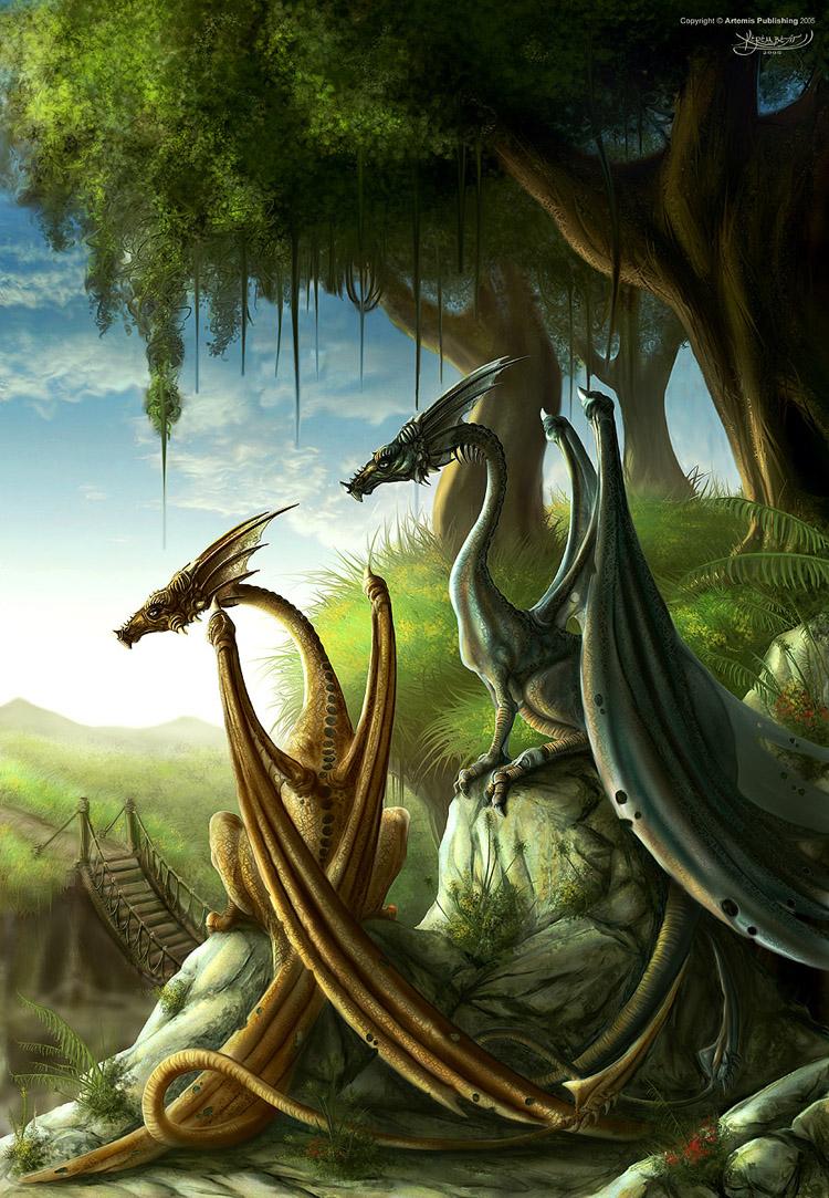 dragons wallpaper, скачать фото обои на рабочий стол, драконы
