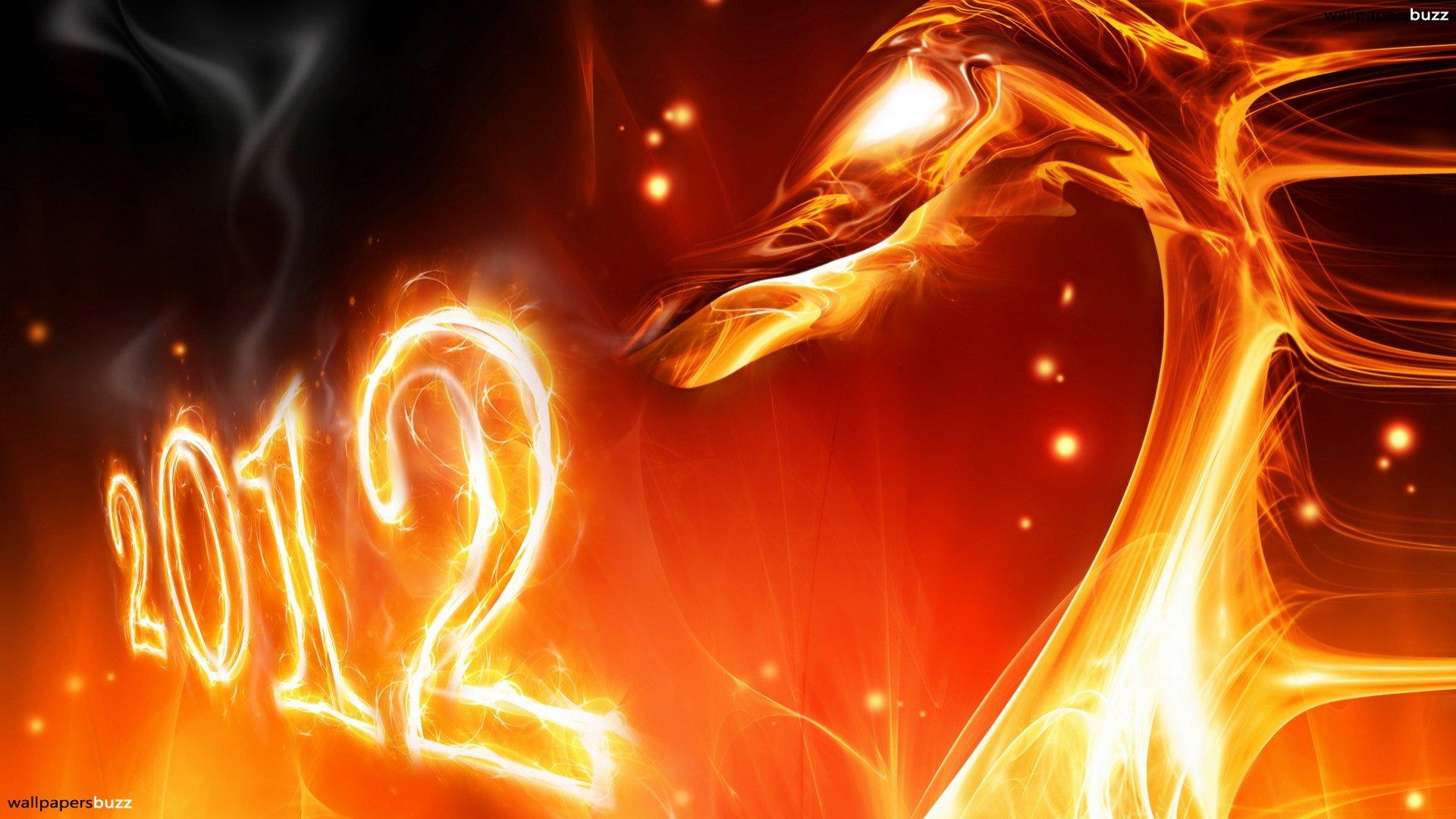 fire dragon 2012, год огненного дракона 2012б скачать обои для рабочего стола