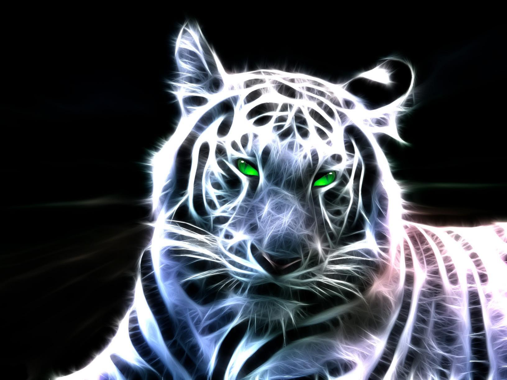 белый полосатый тигр, фото, скачать, обои на рабочий стол