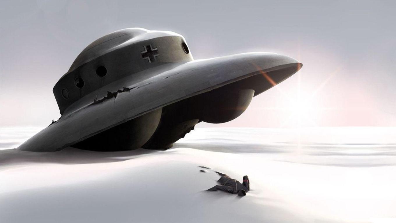 UFO, НЛО, Нацистская летающая тарелка, обои для рабочего стола, скачать, фото