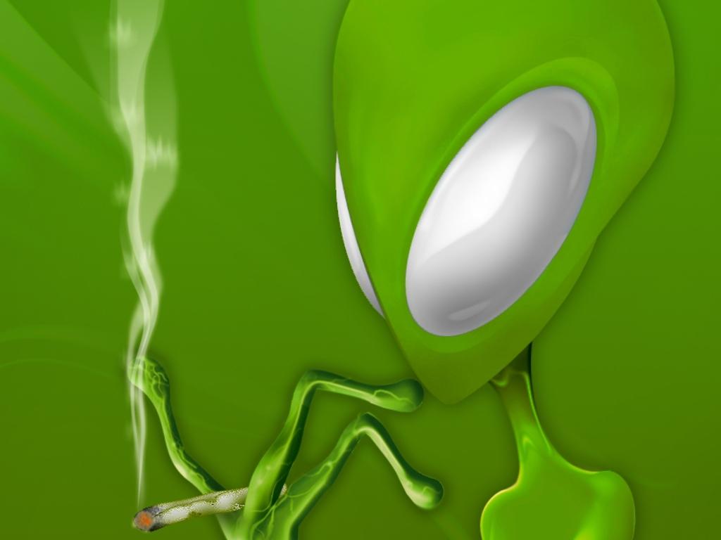 alien green wallpaper, обои для рабочего стола, пришелец, инопланетянин, зеленые обои