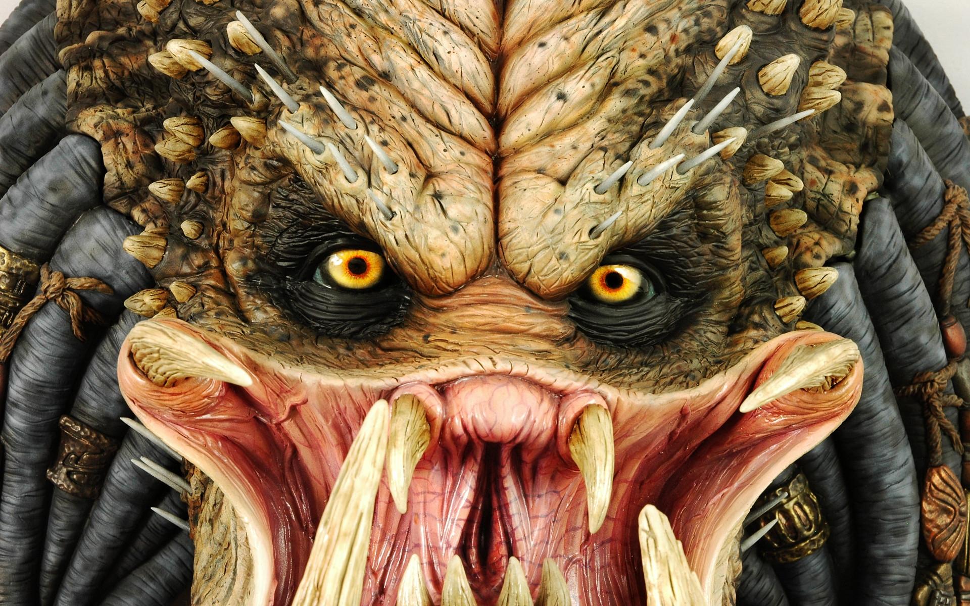 хищник, alien wallpaper, скачать обои для рабчоего стола, оскал, клыки, зубы