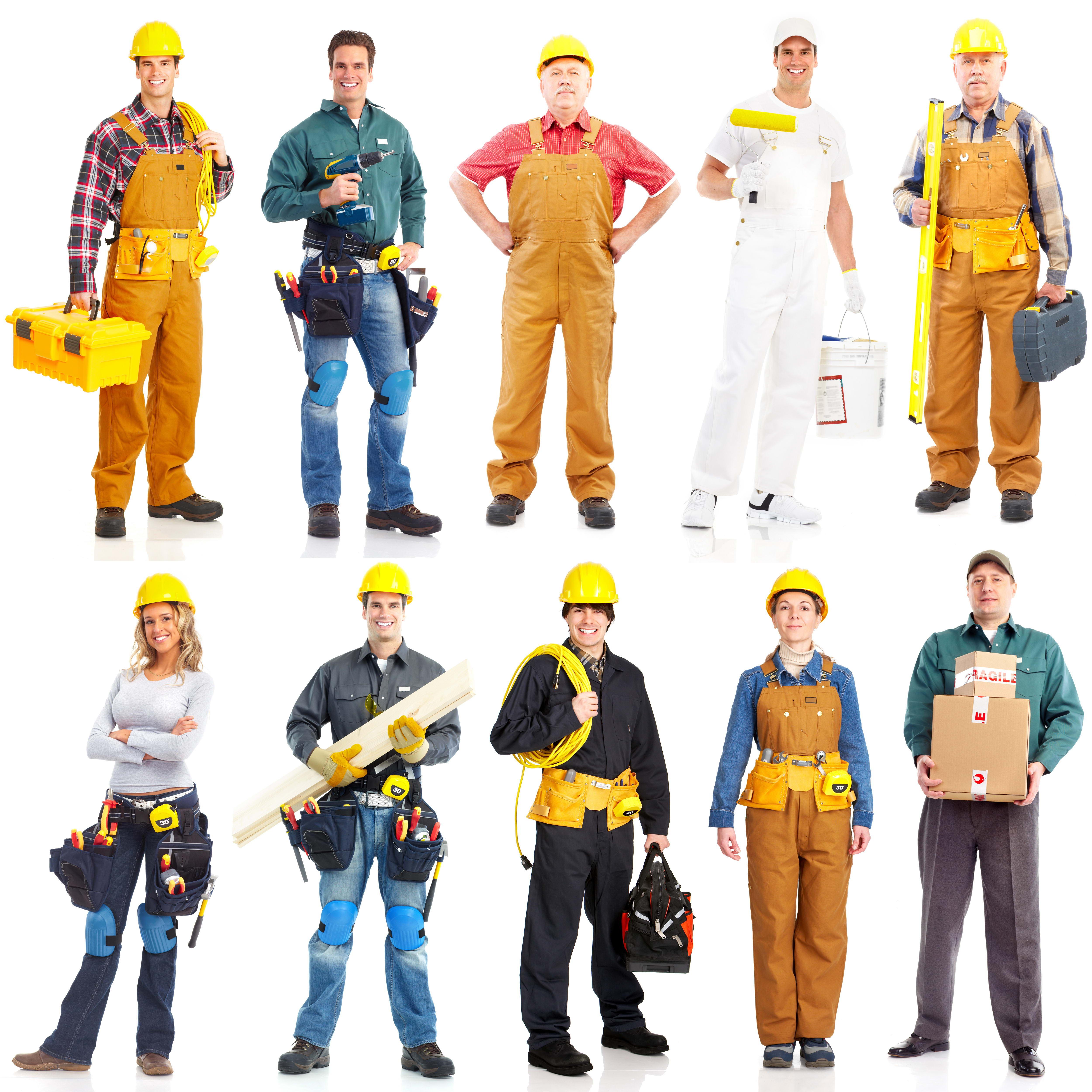 клипарт строители, фото, скачать, инструменты, стройка