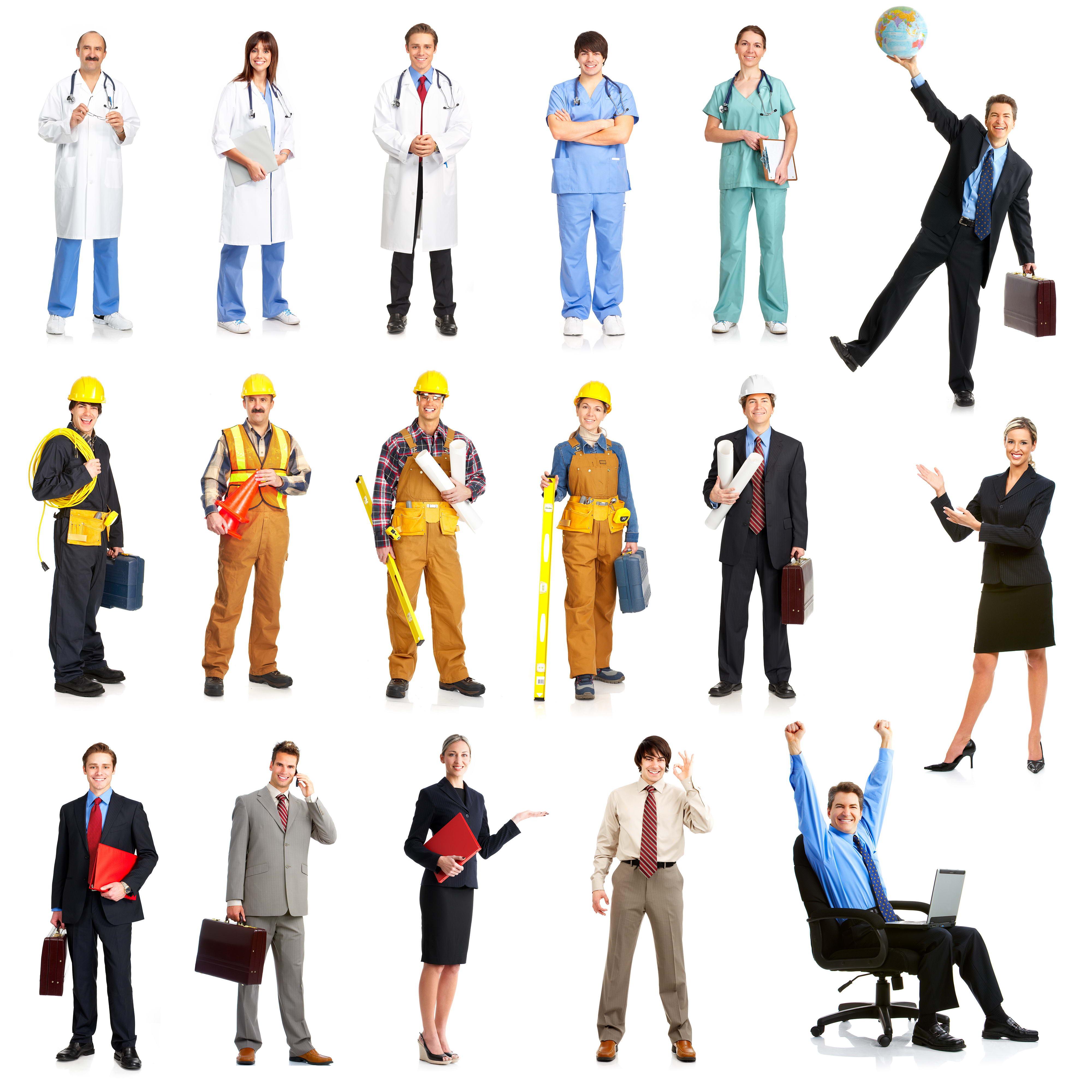 люди разных профессий, клипарт, фото, строители, каски скачать
