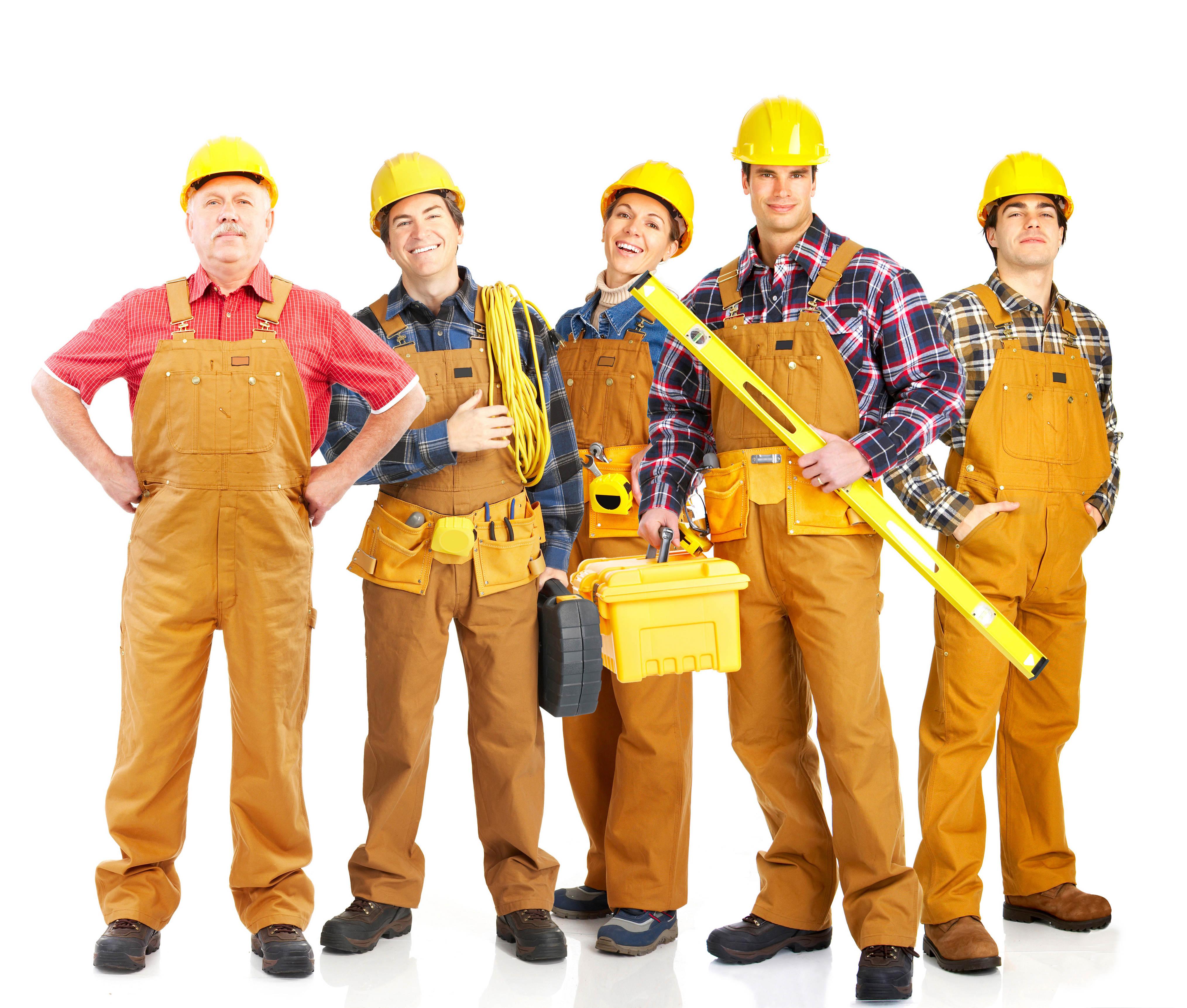 группа строителей, фото, скачать обои для рабочего стола