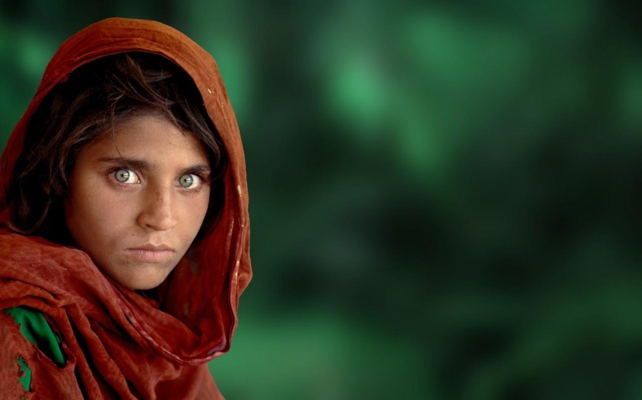 Афганская девушка, фото, обои, Аиша, скачать для рабочего стола