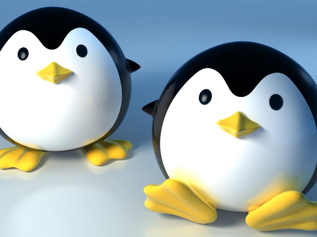 Пингвины, фото, обои для рабчоего стола, скачать